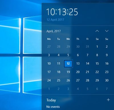 Windows System Time jumps backward in Windows 10