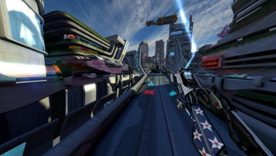 Wipeout HD Fury. Photo Courtesy: Microsoft Xbox Marketplace