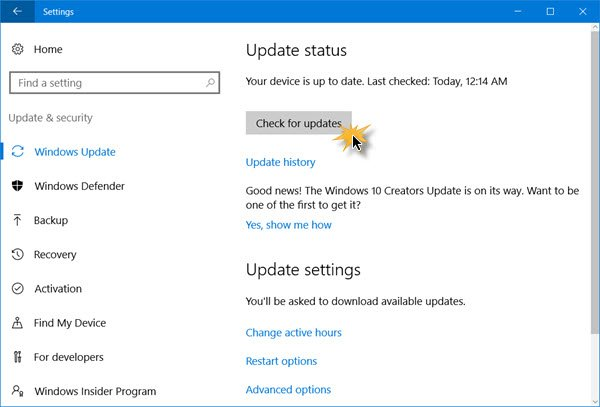 How to get the Windows 10 Fall Creators Update