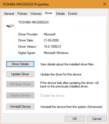 you lot volition honour that nigh of the device drivers on Windows  Why are Windows 10 Device Drivers even thus dated dorsum to 2006?