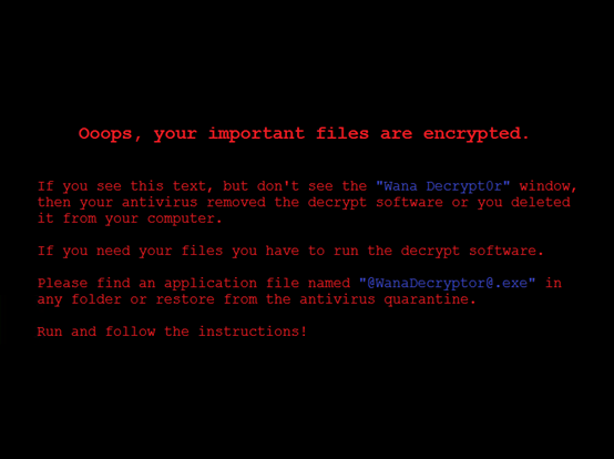 What is WannaCrypt ransomware