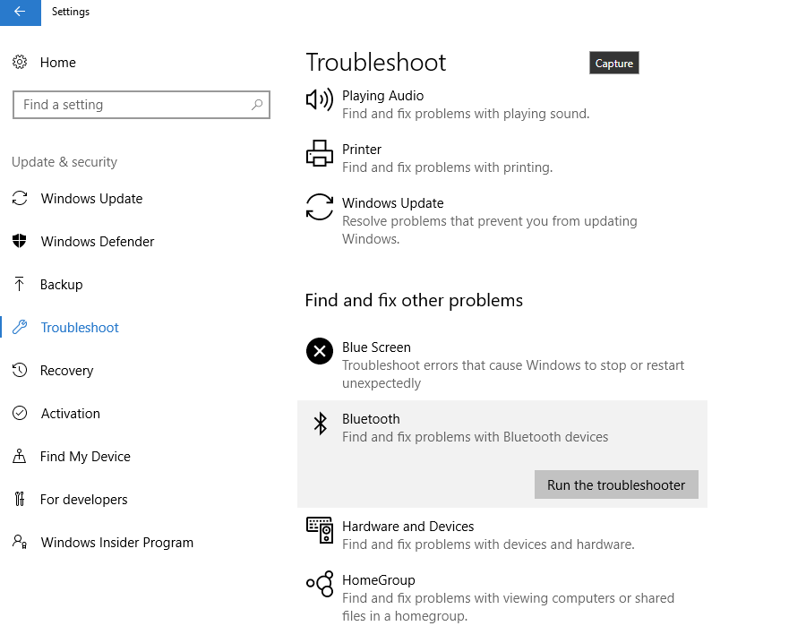 Bluetooth LE Devices connectivity issues