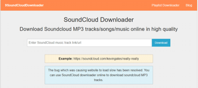 9SoundCloud Downloader download songs from SoundCloud