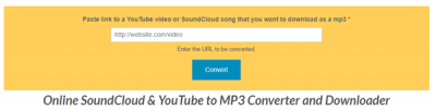Anything2mp3 download songs from SoundCloud