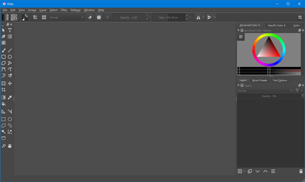 Krita Painting software for Illustrators & Texture Artists