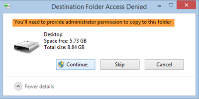 Youll need to provide administrator permission to delete this folder
