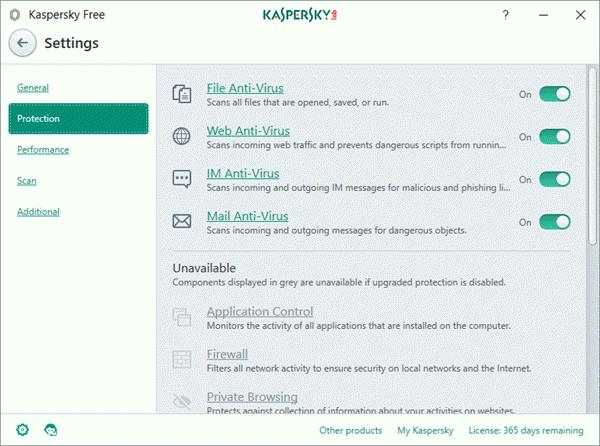 Kaspersky Free Antivirus