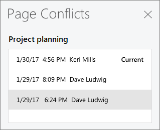 Page conflicts. Source: microsoft.com