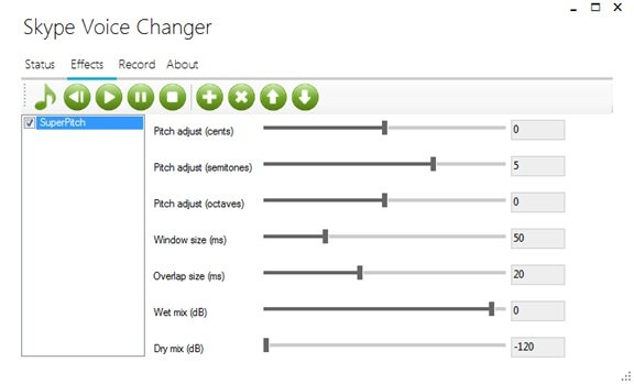 Voice changer software