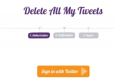 Best tools to delete all tweets at once
