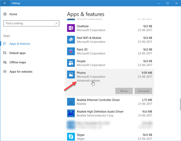 Windows 10 Photos app is slow to open