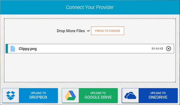 Whisply lets you transfer files via Cloud Storage service using Encryption