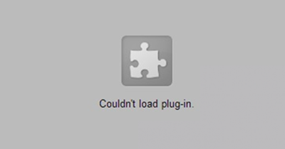 Couldn't load plugin