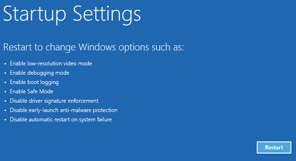 The operating system version is incompatible with Startup Repair