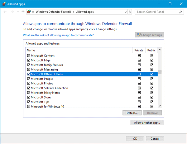 Reported error (0x80042108) Outlook is unable to connect to your incoming (POP3) email server