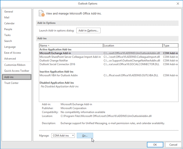 Outlook error (0x80042108) Outlook is unable to connect to your incoming (POP3) email server