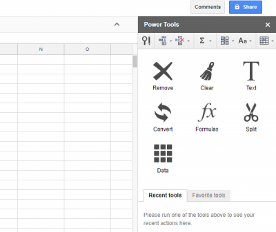 Best Google Sheets add-ons