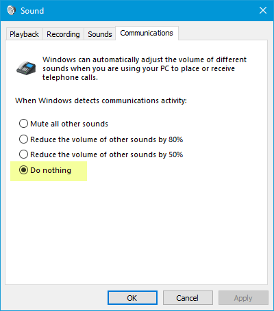 Computer volume too low on Windows