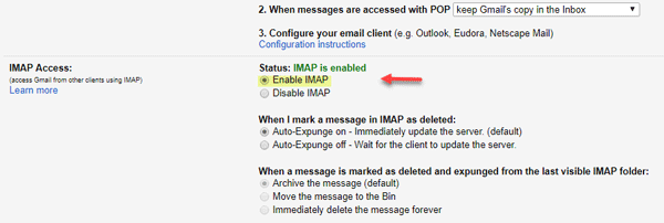 Outlook cannot connect to Gmail, keeps asking for password-2