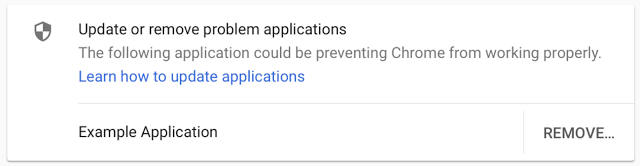 Chrome to block third party injections
