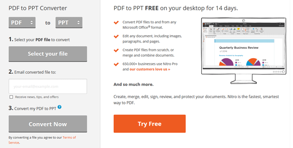 download pdf to ppt converter software free