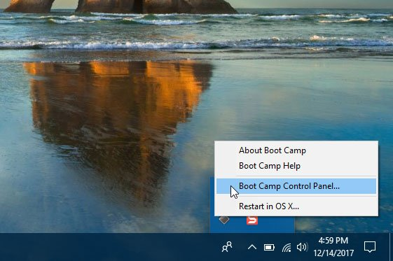 Setup keyboard and trackpad after installing Windows 10 using Boot Camp