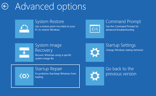 Windows 10 PC will not boot up or start