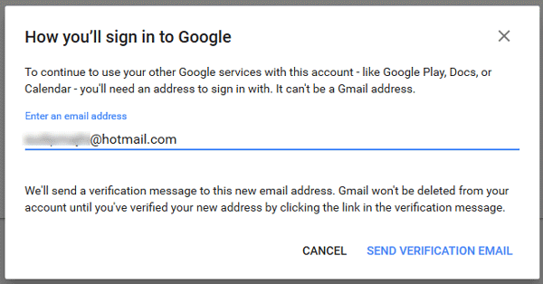 delete Gmail account permanently 3