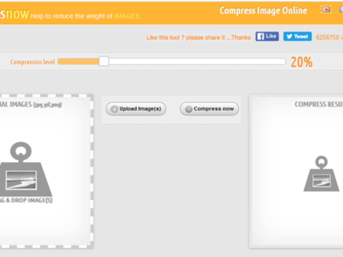 compress images online free without losing quality