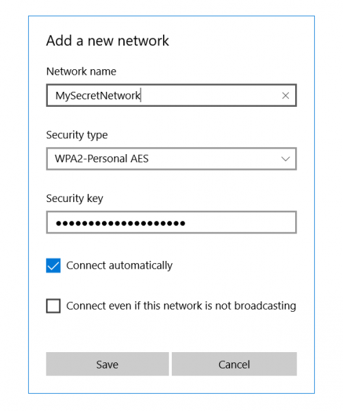 find and connect to Hidden WiFi Networks