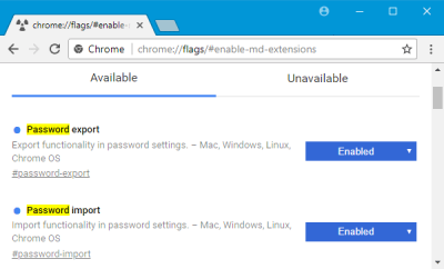 Chrome Flags tweaks
