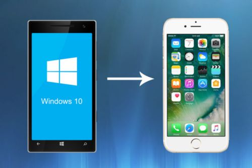 Mobile Phone OS is a corking OS if I may thus tell How to switch from a Windows Phone to iPhone: Step yesteryear Step Guide
