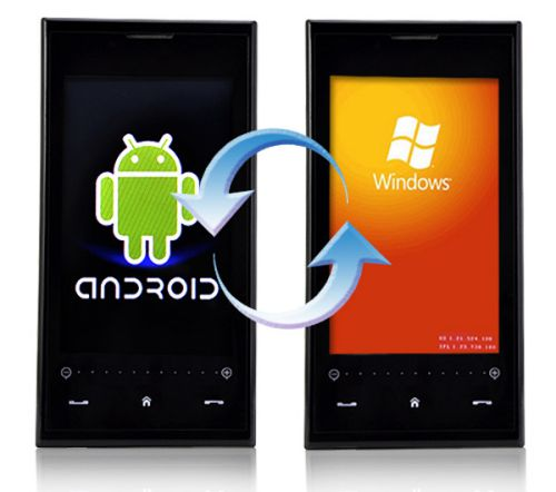 switch from a windows phone to android phone