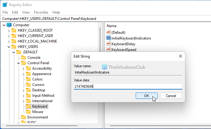 Number or Numeric Lock is not working on Windows 11/10