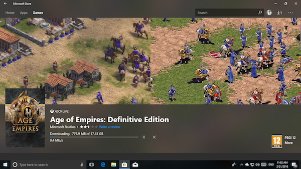 Age of Empires Definitive Edition not launching