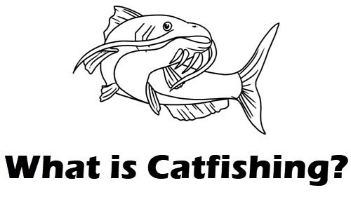 What does Catfish mean in online dating context?