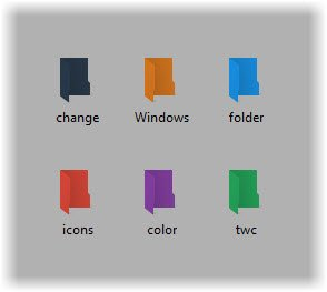 Change Folder colors