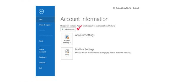 Configure Outlook in Indian language