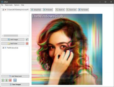 Free Watermark software for Windows