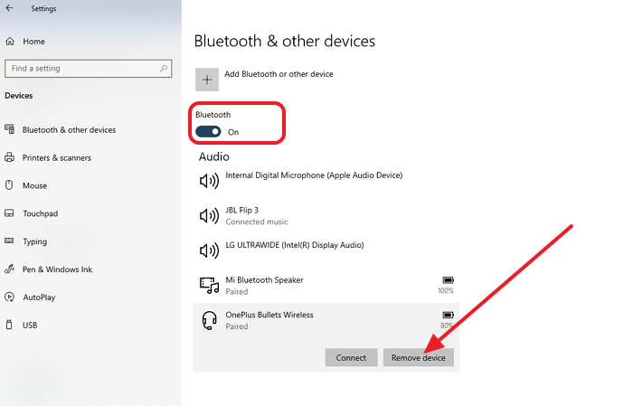 Bluetooth Disconnect Devices