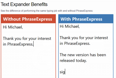 Phrase Express Clipboard Manager