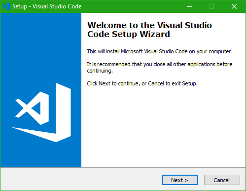 Downloading Visual Studio Code