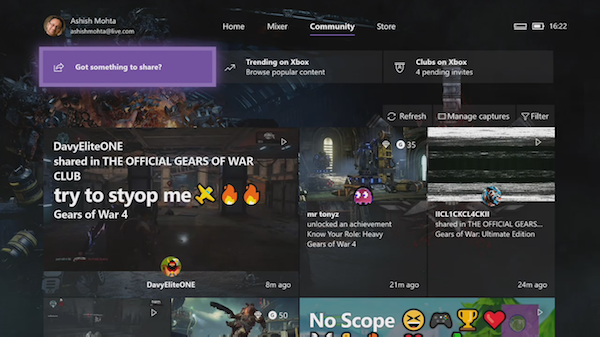 manage Activity Feed and Notifications on Xbox One