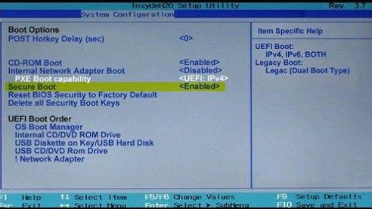 How to Enable Boot from DVD Option with UEFI Boot Mode Enabled ...