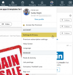 How to download profile data from LinkedIn