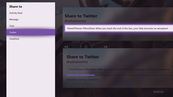 How to set up Twitter Sharing on Xbox One