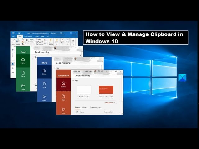 How to View & Manage Clipboard in Windows 10
