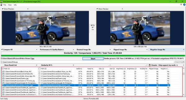 Duplicate IMAGE cleaner & remover software