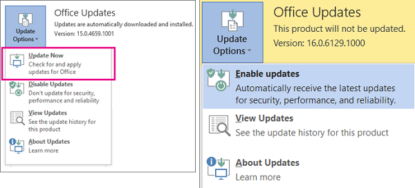 How to Update Office 365