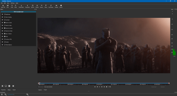 Shotcut: Free video editor with 4K support